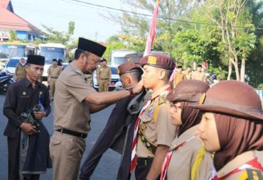 40 Pramuka Kota Bengkulu Imuti Raimuna Nasional XI
