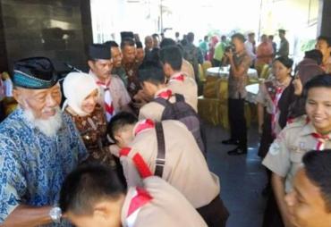 Halal Bi Halal Wawali Bersama Kwarcab Pramuka 0704 Kota…