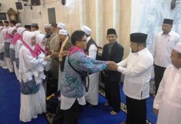 Lepas Keberangkatan, Jemaah Calon Haji Diminta Doakan…