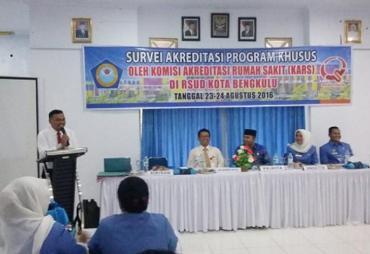RSUD Kota Rasa Bintang Lima, Siap Diakreditasi
