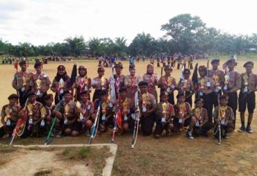 Wawali Tutup Jambore IV Kota Bengkulu