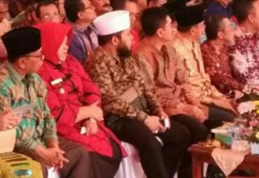 Walikota Bengkulu Hadiri Harganas 2017 di Lampung
