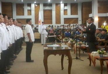 Pengurus KONI Provinsi Bengkulu Periode 2017 - 2021 Dilantik