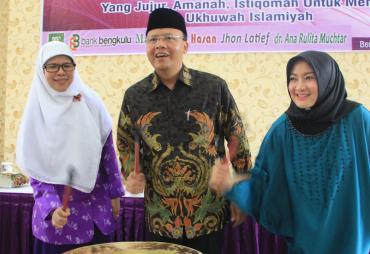 Plt Gubernur Bengkulu  Hadiri Muswil III Wanita Islam