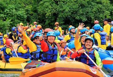 Lebong Fun Rafting 2017