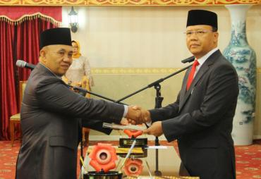 Tutup Tahun 2017, Sekda Provinsi Bengkulu Definitif