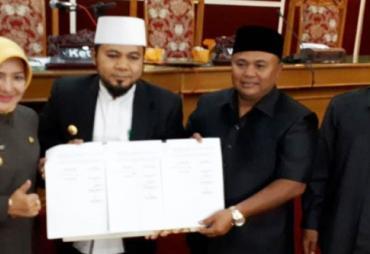 Paripurna Pengesahan APBD Kota Bengkulu 2018