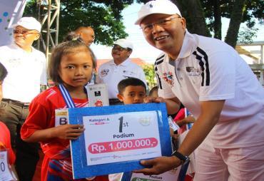 Kids Marathon Menuju Wonderful Bengkulu 2020