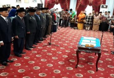 Izin Mendagri, 48 Orang Pejabat Pemkot Dilantik