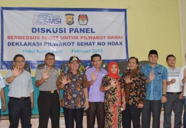 SMSI Bengkulu Gelar Diskusi Panel Dan Deklarasi Pilwakot…