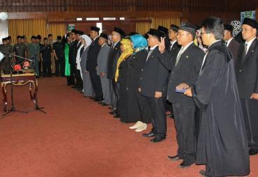 Sekda Provinsi Bengkulu Lantik 43 Pejabat Fungsional