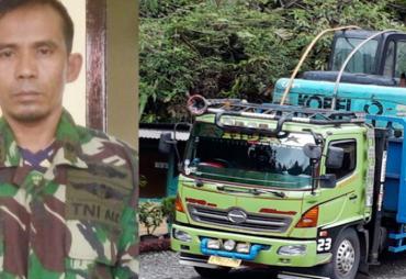 Kawal Truk, Pemuda Pandeglang Diamankan Satlantas Kaur