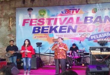Festival Band Bengkulu Beken Meriahkan Hari Jadi Kota…