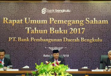 Peningkatan Modal Inti Bank Bengkulu Ditargetkan Capai Buku…