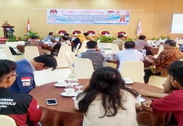KPU Kota Bengkulu Adakan Coffee Morning Wujudkan Kampanye…