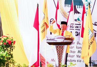Dilantik, Rohidin Mersyah Resmi Pimpin Golkar Bengkulu