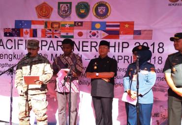 Bengkulu Sukses Sebagai Tuan Rumah Pasific Partnership 2018