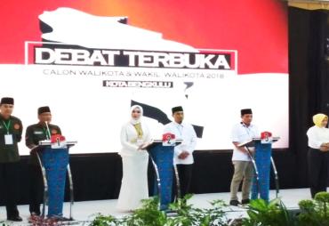 KPU Kota Bengkulu Gelar Debat Terbuka Paslon Pilwakot