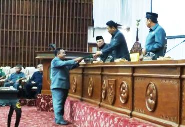 DPRD Provinsi Bengkulu Gelar Paripurna Pengesahan Perda…