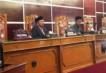 DPRD Kota Bengkulu Gelar Paripurna Penyampaian Rekomendasi…