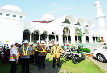 Masjid Raya Baitul Izzah Akan Direnovasi