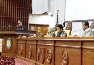 Rapat Paripurna DPRD Provinsi Bengkulu Agenda Laporan Hasil…
