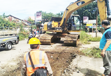 Dinas PUPR Kota Bengkulu Perbaiki Dan Lebarkan Jalan Zainul…