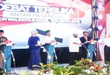 Debat Kandidat Ketiga, Empat Paslon yang Hadir Lengkap