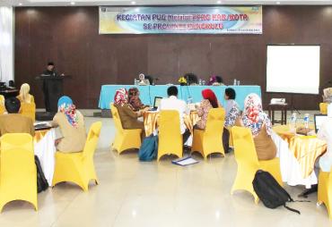 Pemprov Gelar Pelatihan Penganggaran Responsif Gender