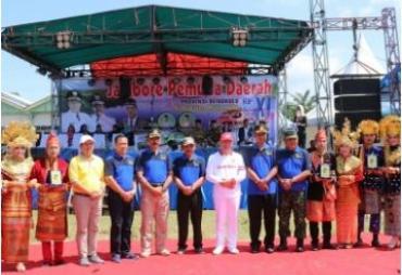 Pembukaan Jambore Pemuda Daerah Ke- XI Tahun 2018 Di…