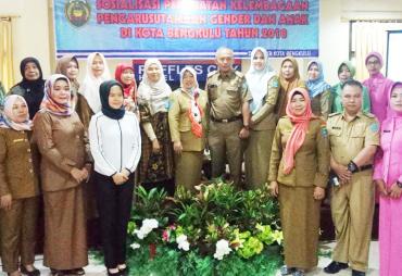 DP3AP2KB Kota Bengkulu Sosialisasikan Penguatan Kelembagaan…