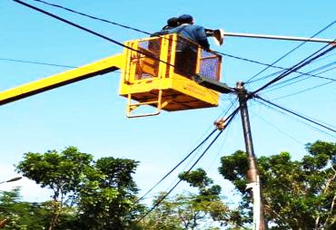 Dishub Kota Bengkulu Perbaiki LPJU