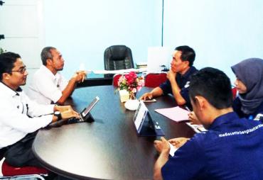 Kunjungi Kominfosan Kota Bengkulu, Kominfo Bengkulu Utara…