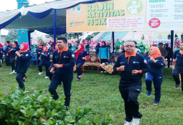 Dinkes Bengkulu Utara Sosislisasi Germas