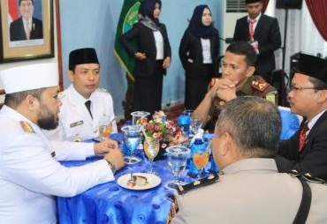 Walikota Helmi Hasan Ramah Tamah dengan OPD di Kota…