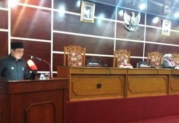 Wawali Kota Bengkulu Jawab Pandangan Umum Fraksi DPRD Kota…
