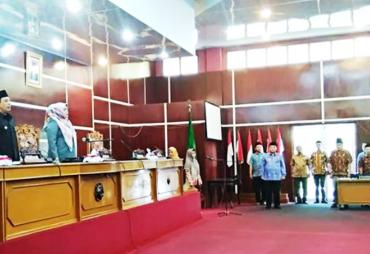 DPRD Kota Bengkulu Gelar Paripurna Jawaban Walikota…