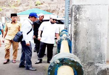 ingkatkan Kualitas Air PDAM, Walikota Jajaki Sumber Air Baru