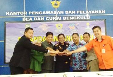 Bentuk layanan Pos Ekspor, KPPBC Bengkulu MoU Dengan PT Pos