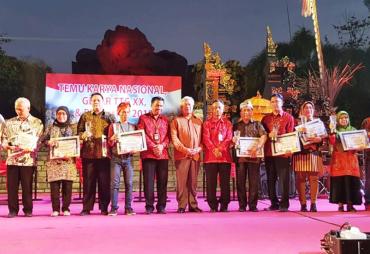 Bengkulu Sabet 2 Penghargaan dalam Temu Karya Nasional TTG…