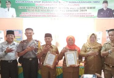 2 Kelurahan Di Kota Bengkuylu Deklarasi SBS dan SBTM