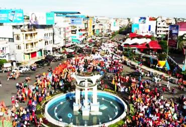 Kota Bengkulu Launching Motif Batik Besurek HD