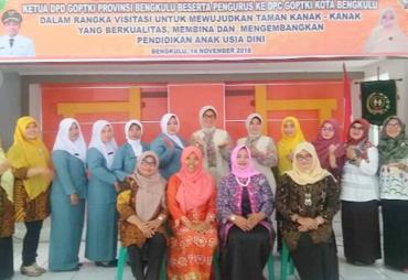 Tingkatkan Koordinasi GOPTKI Kota Bengkulu