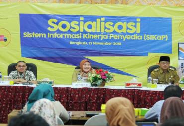 LKPP RI Gelar Sosialisasi Sistem Informasi Kinerja Penyedia…