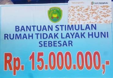 Pemkot Bengkulu Serahkan 229 Unit Bantuan RTLH