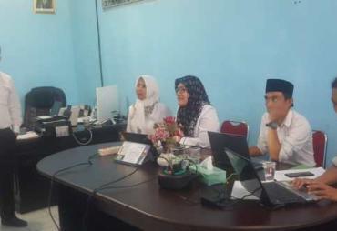 Diskominfosan KOta Bengkulu Latih Admin Website Kecamatan