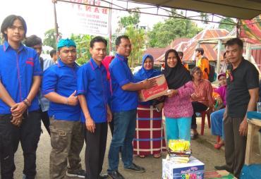 Peduli Korban Banjir,  AMBO Berikan Bantuan Sembako