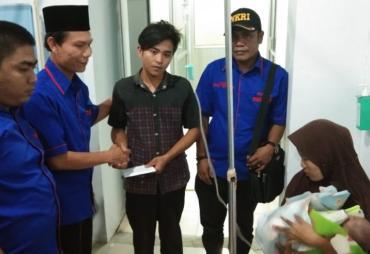 Berikan Bantuan Ilham, Ketua AMBO : Partisipasi Pemerintah…
