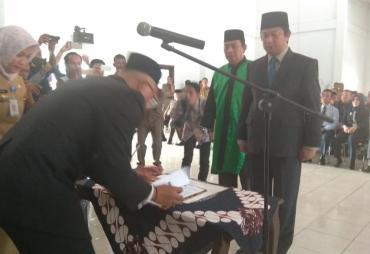 Yudi Satria Resmi Sekda Bengkulu Selatan