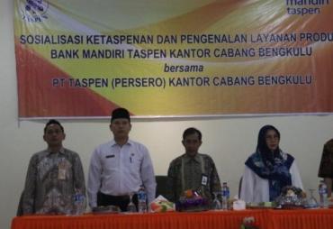 Ratusan ASN Kota Bengkulu Ikuti Sosalisasi Taspen